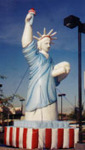 giant balloon rental - 25ft Statue of Liberty advertising balloon for rent